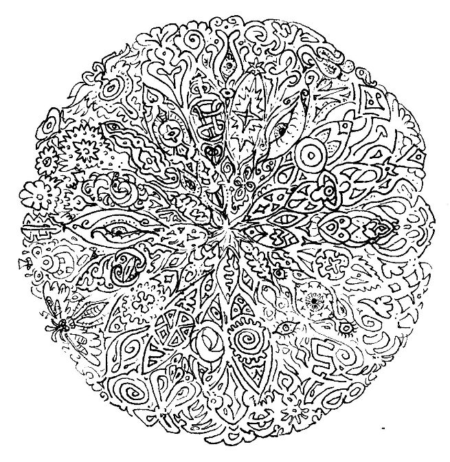 Multiple Coloring Pages Mandala Already. Multiple. Best ...